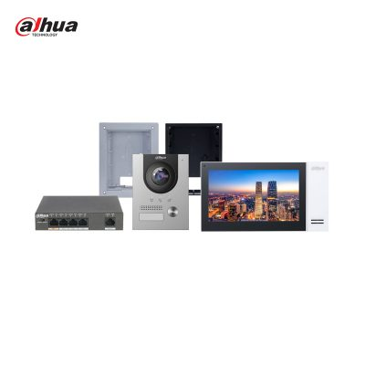 Videocitofono Kit IP (con gestione via APP) - Dahua KTP01F